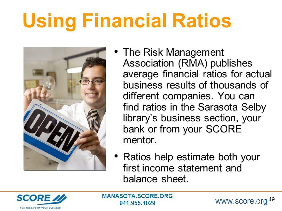 Using Financial Ratios