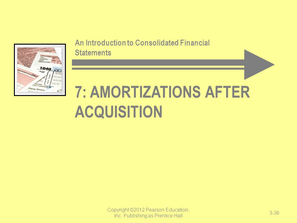 7: Amortizations After Acquisition