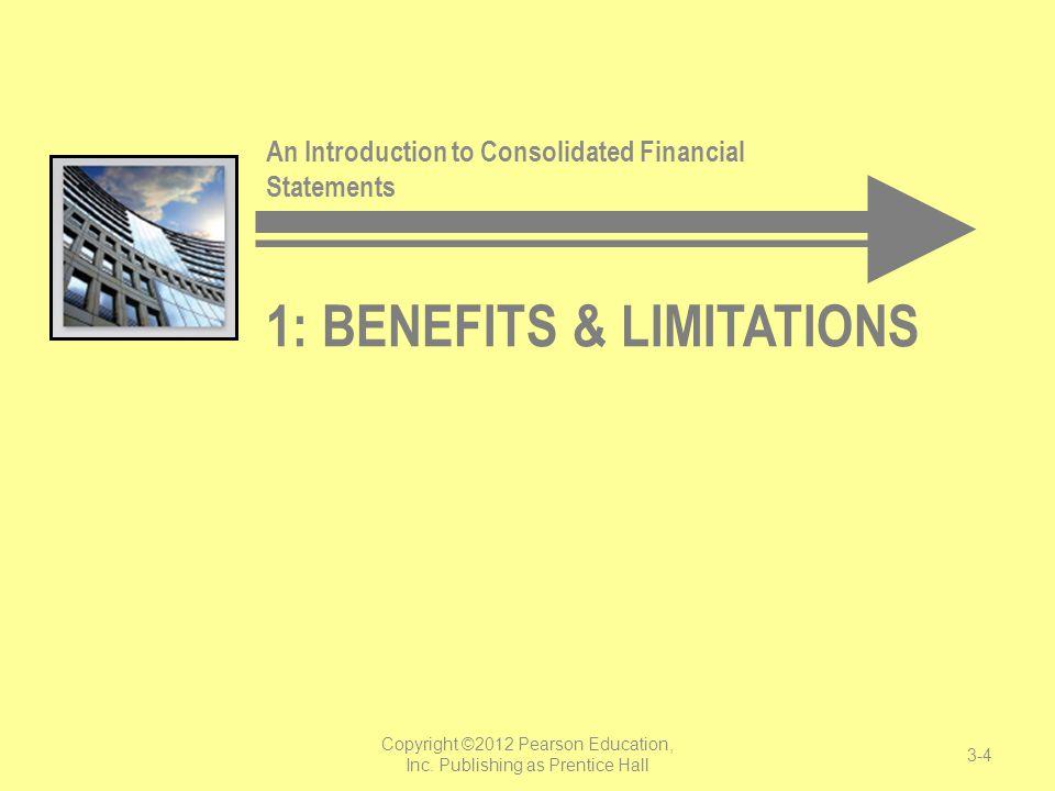 1: Benefits & Limitations