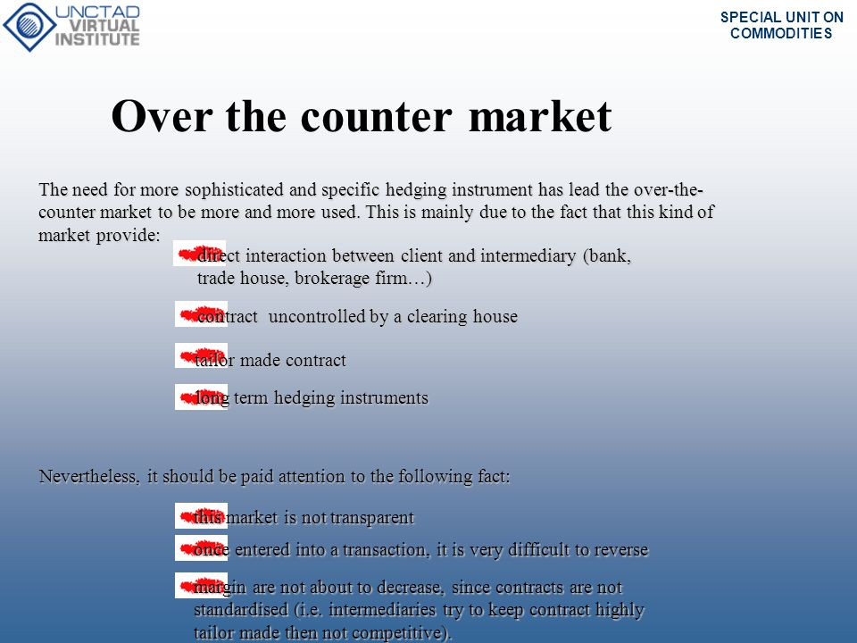 Over the counter market