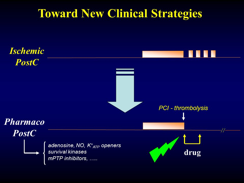 Toward New Clinical Strategies