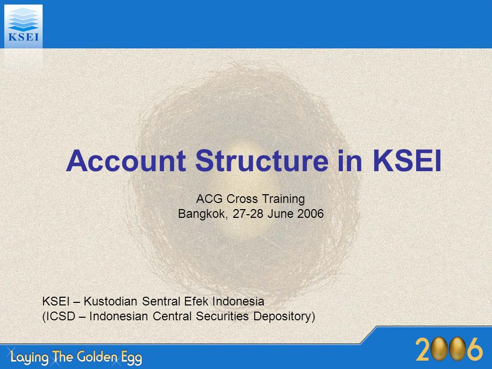 Account Structure in KSEI