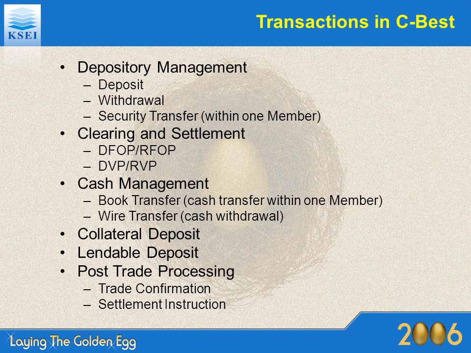 Transactions in C-Best