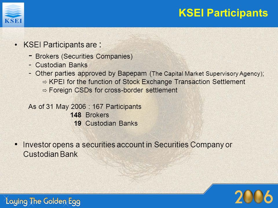 KSEI Participants Brokers (Securities Companies)