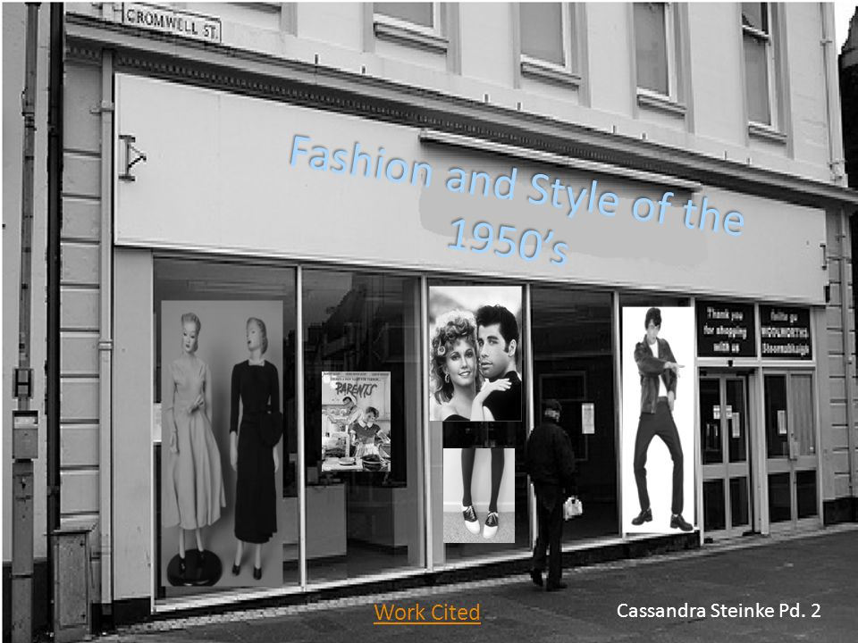 Fashion and Style of the 1950's