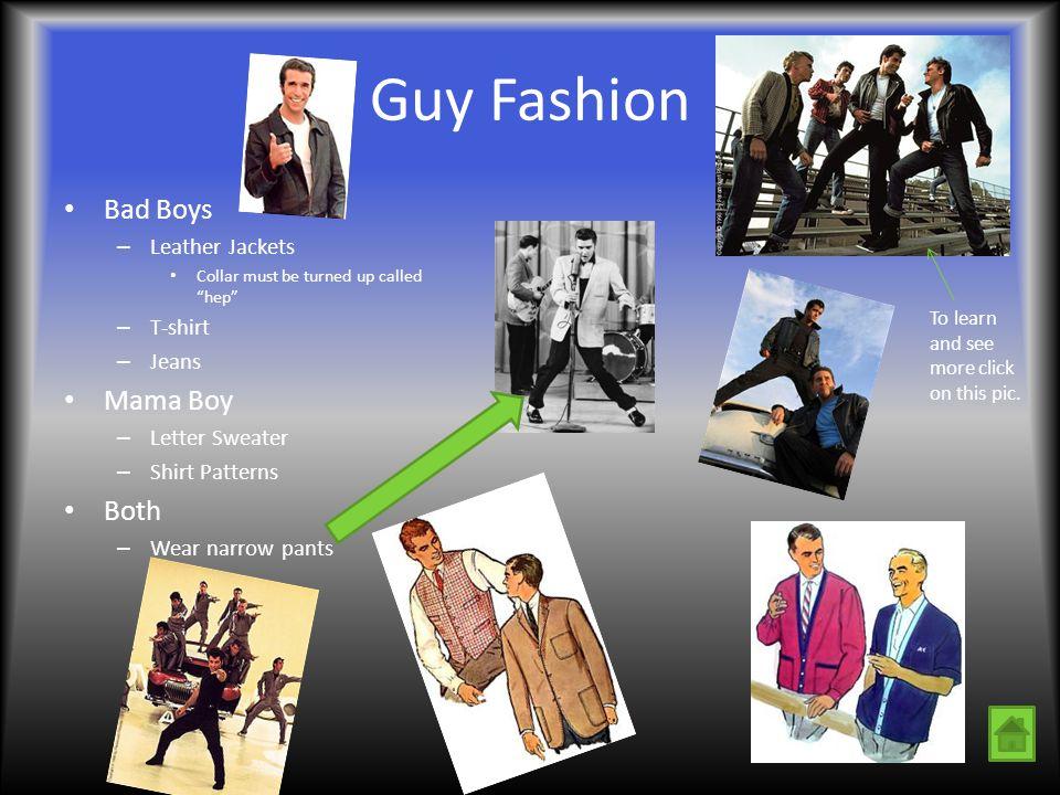 Guy Fashion Bad Boys Mama Boy Both Leather Jackets T-shirt Jeans
