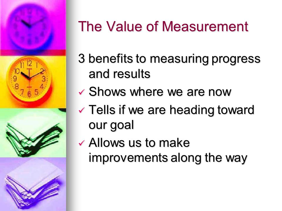 The Value of Measurement