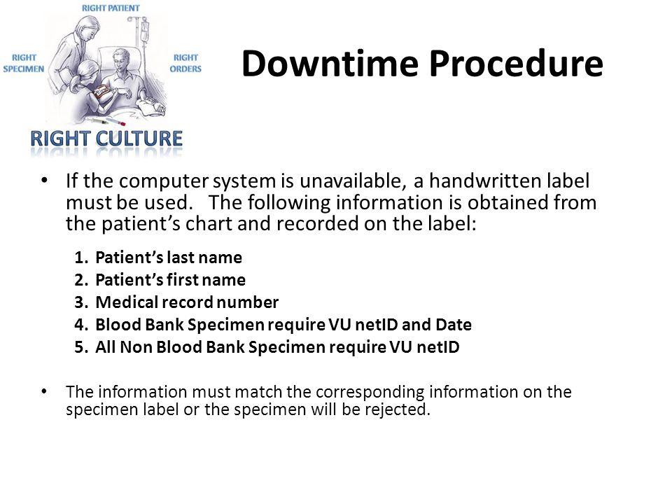 Downtime Procedure