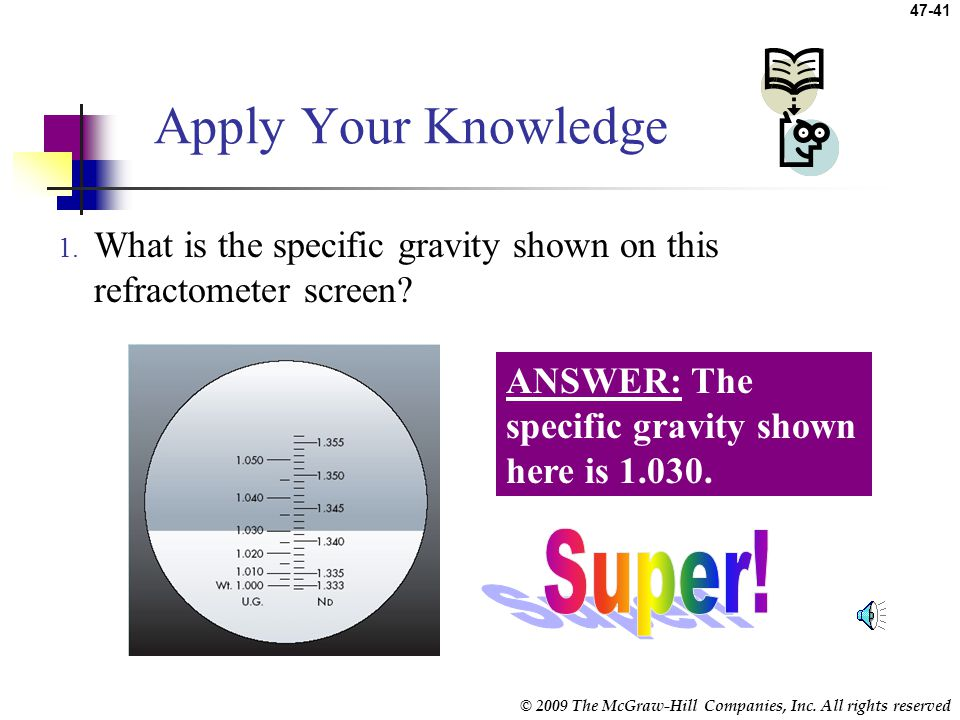 Apply Your Knowledge Super!