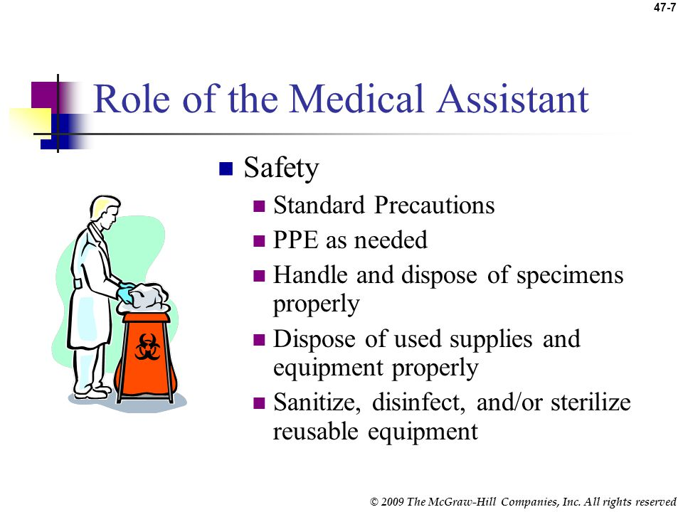 Role of the Medical Assistant