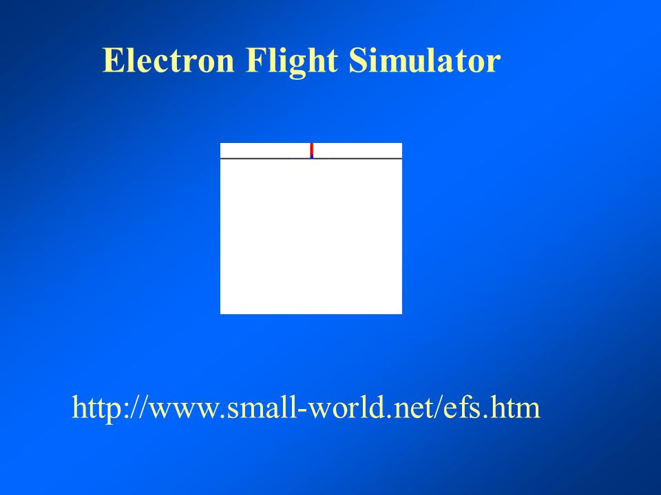 Electron Flight Simulator