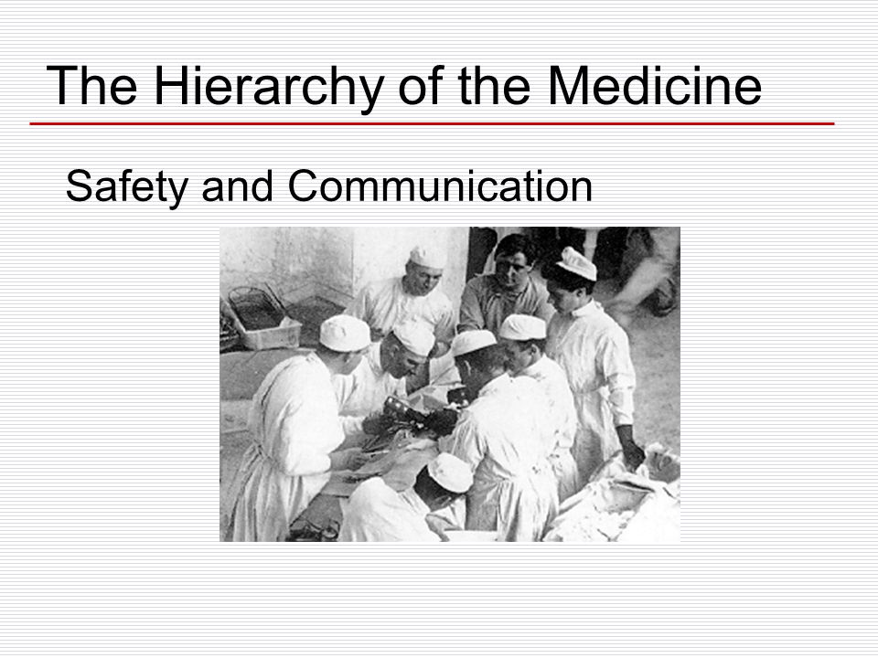 Safety and Communication