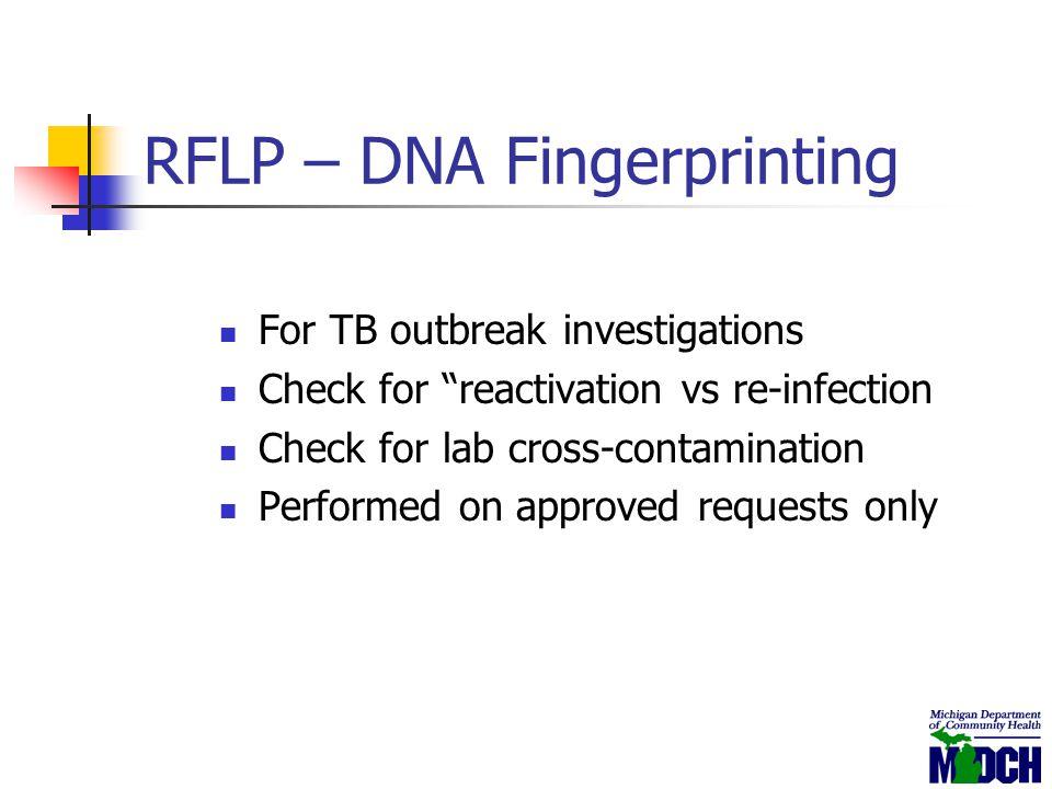 RFLP – DNA Fingerprinting