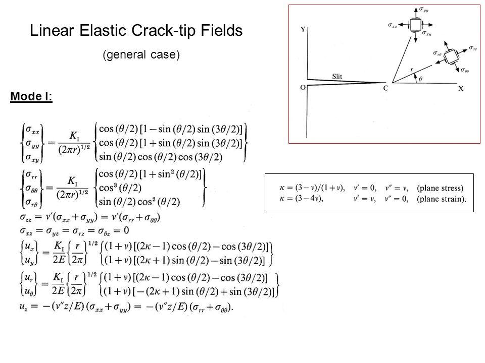 Linear Elastic Crack-tip Fields