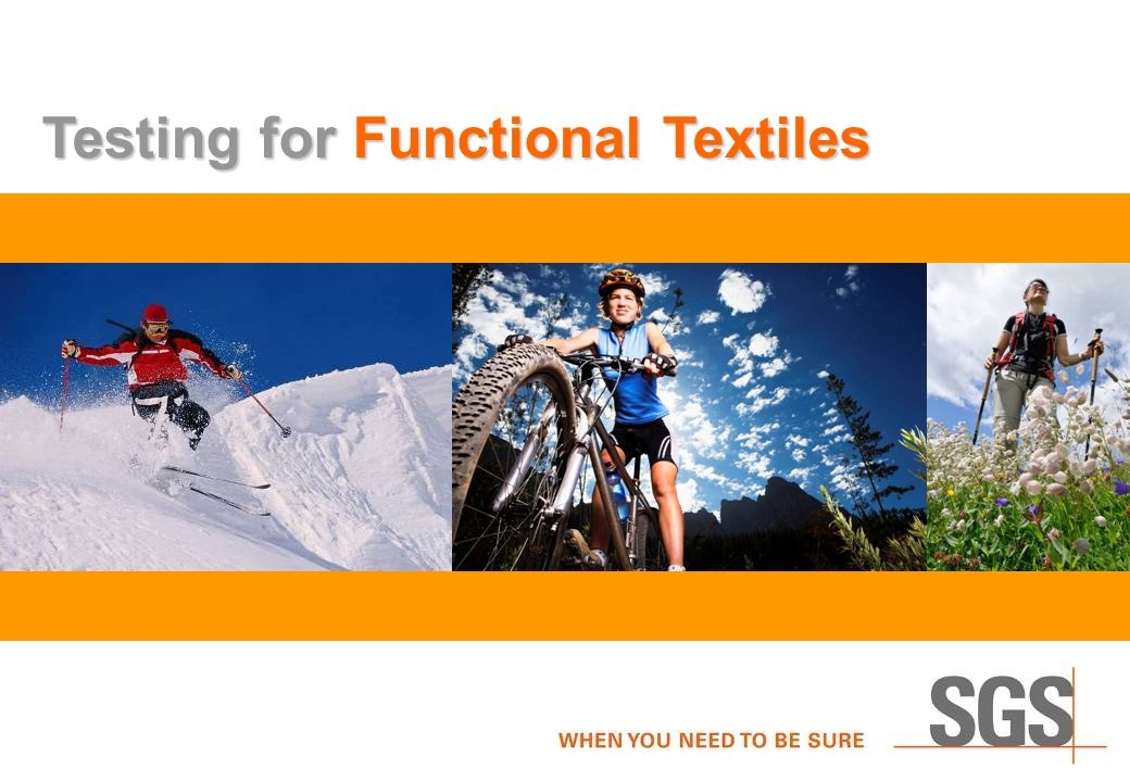 Testing for Functional Textiles