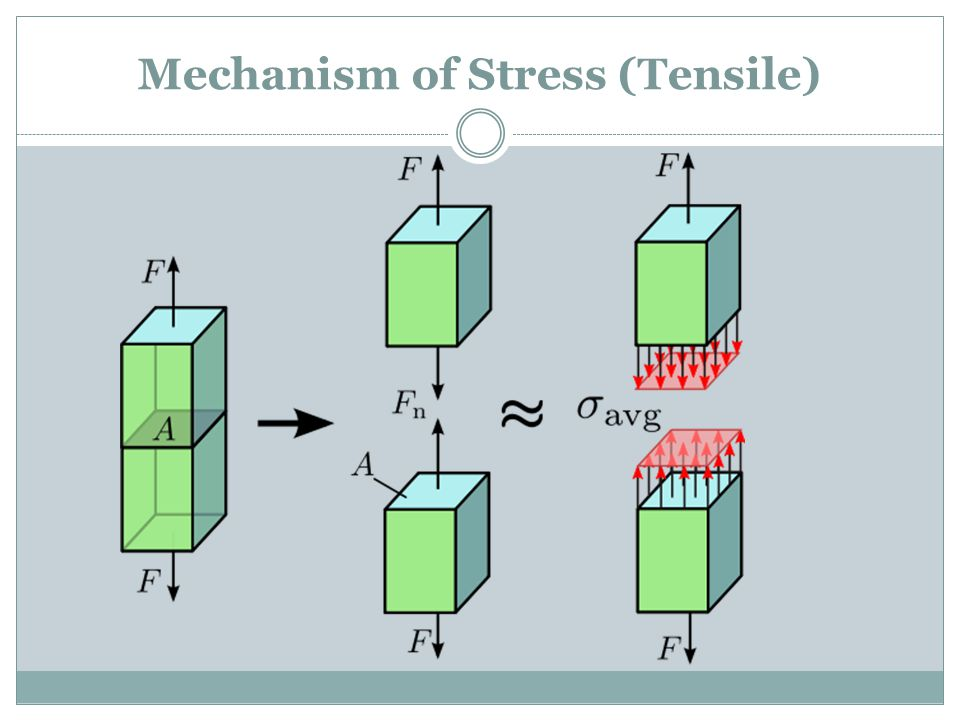 Mechanism of Stress (Tensile)