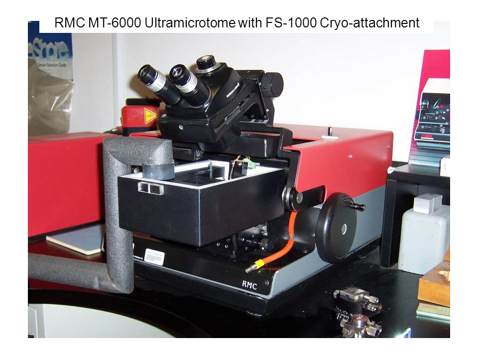 RMC MT-6000 Ultramicrotome with FS-1000 Cryo-attachment