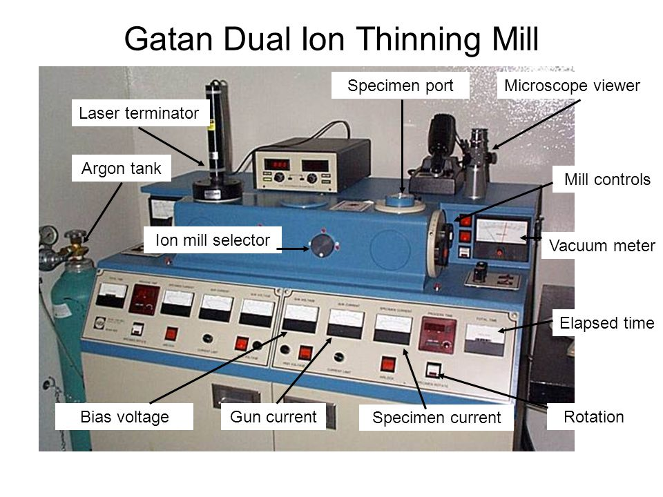 Gatan Dual Ion Thinning Mill
