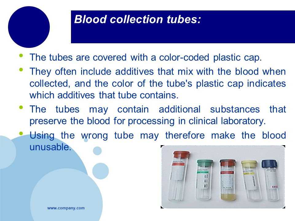Blood collection tubes: