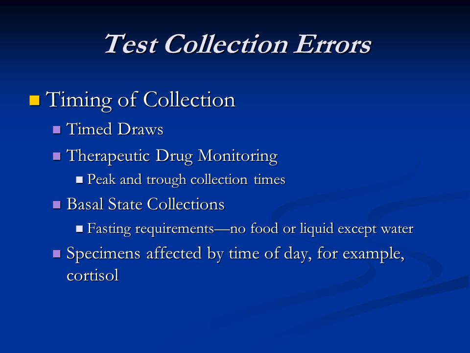 Test Collection Errors