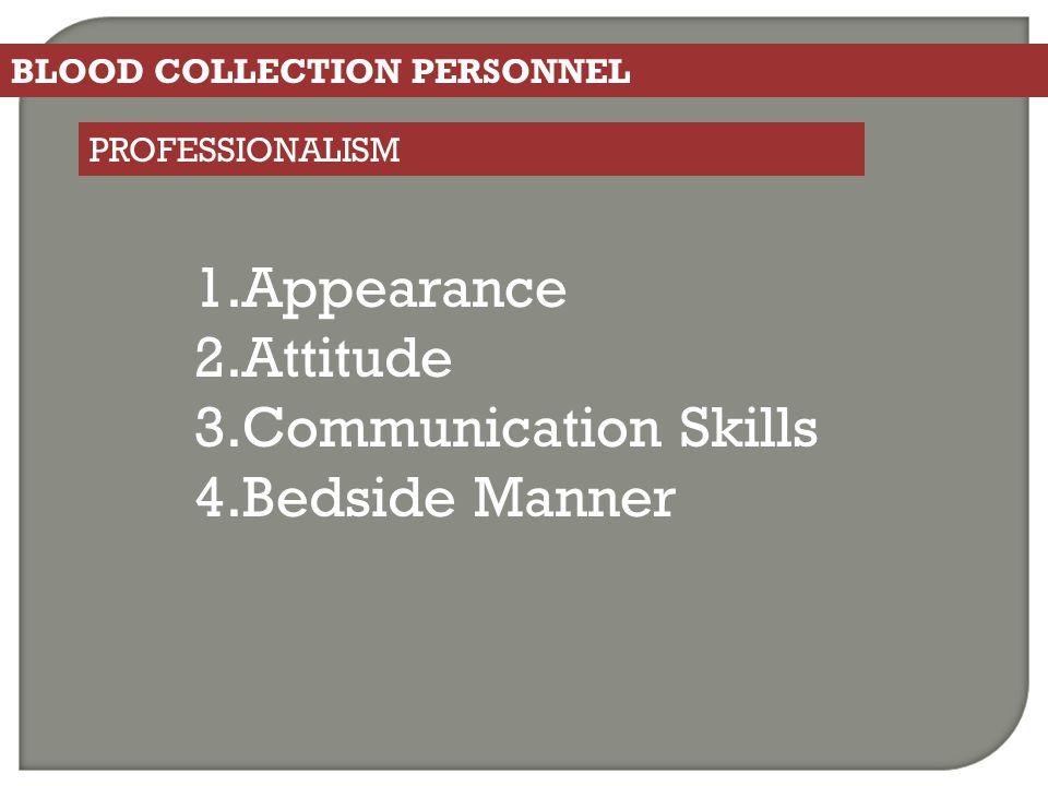 Appearance Attitude Communication Skills Bedside Manner
