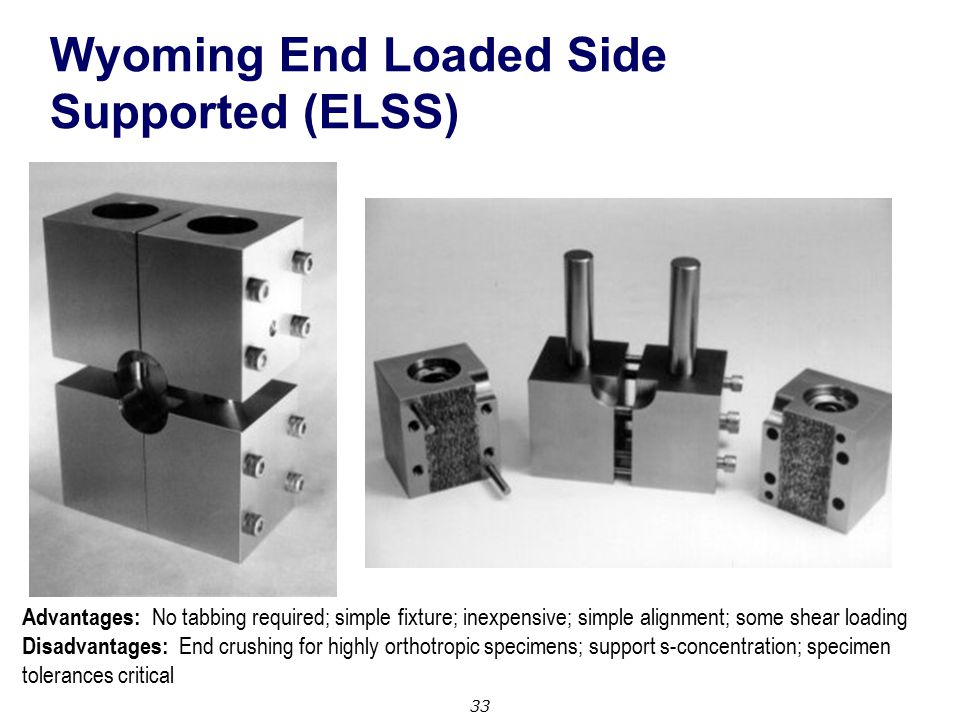 Wyoming End Loaded Side Supported (ELSS)