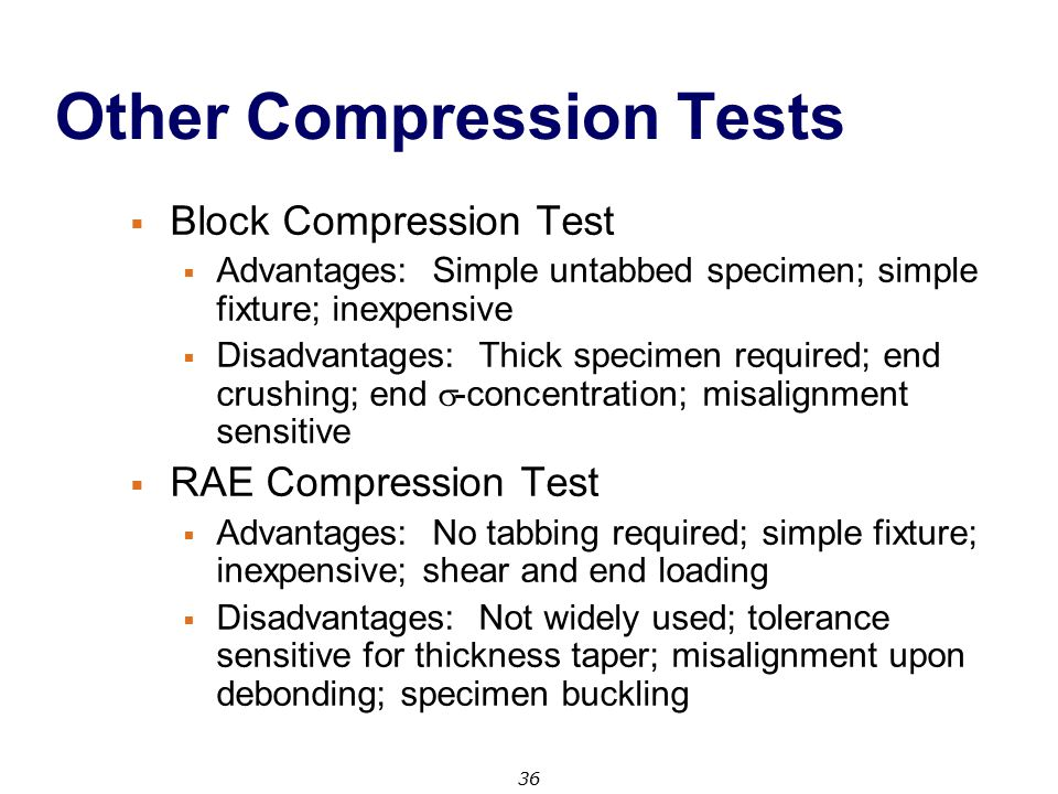Other Compression Tests
