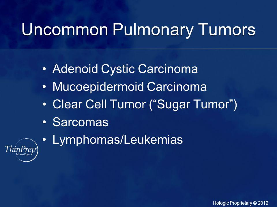 Uncommon Pulmonary Tumors