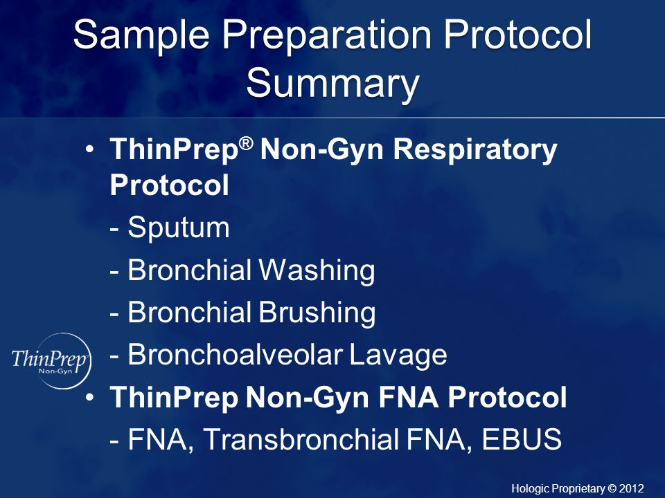 Sample Preparation Protocol Summary