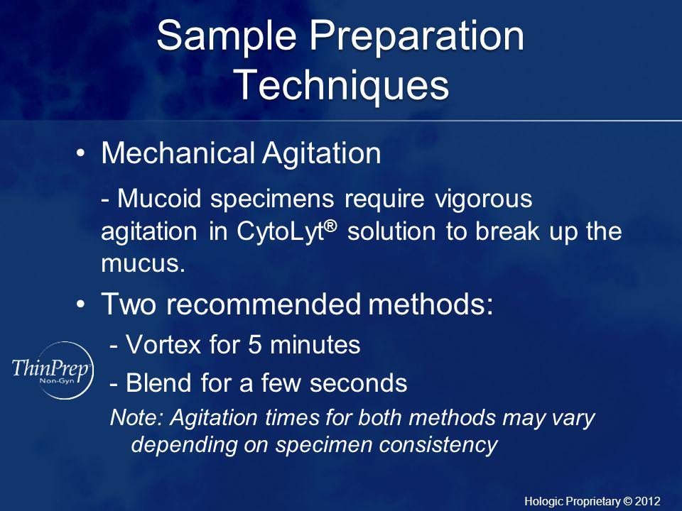 Sample Preparation Techniques