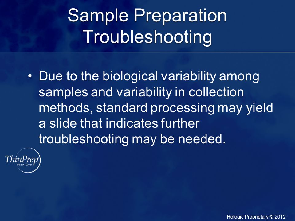 Sample Preparation Troubleshooting