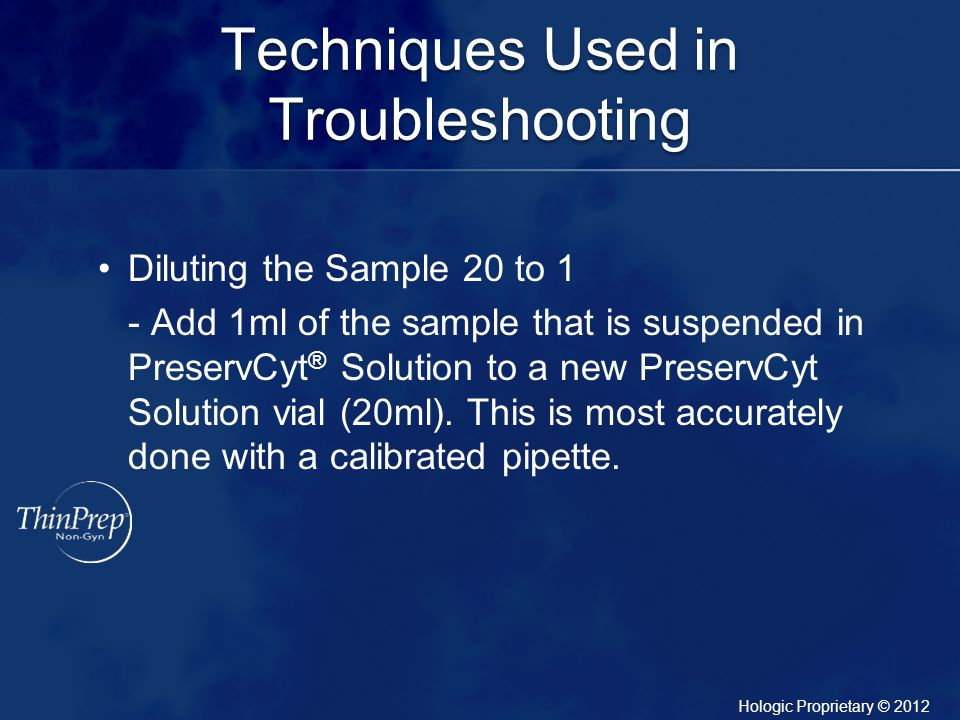 Techniques Used in Troubleshooting