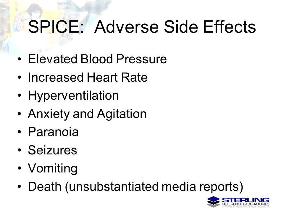SPICE: Adverse Side Effects
