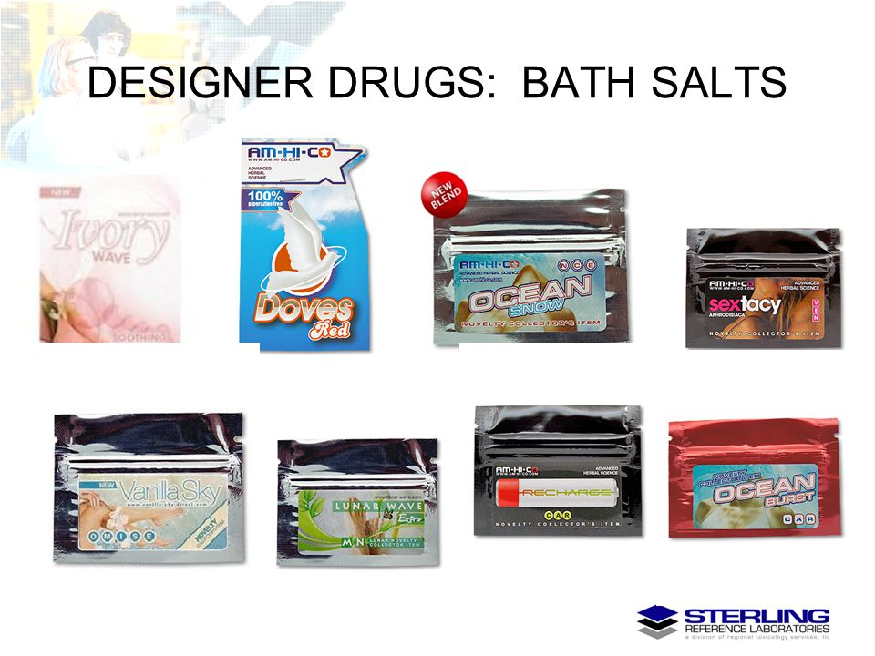 DESIGNER DRUGS: BATH SALTS