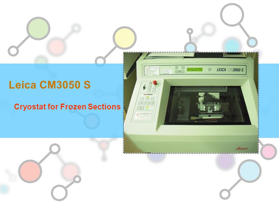 Cryostat for Frozen Sections