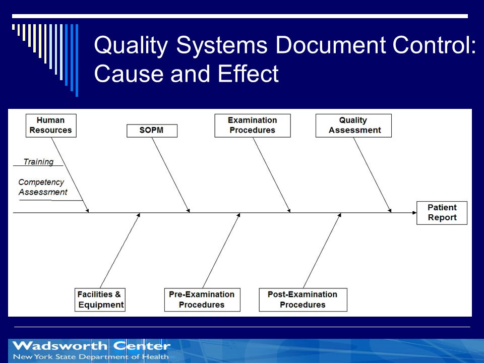 Quality Systems Document Control: Cause and Effect