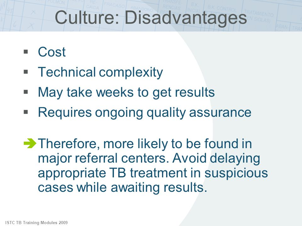 Culture: Disadvantages