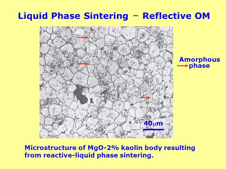 Liquid Phase Sintering – Reflective OM