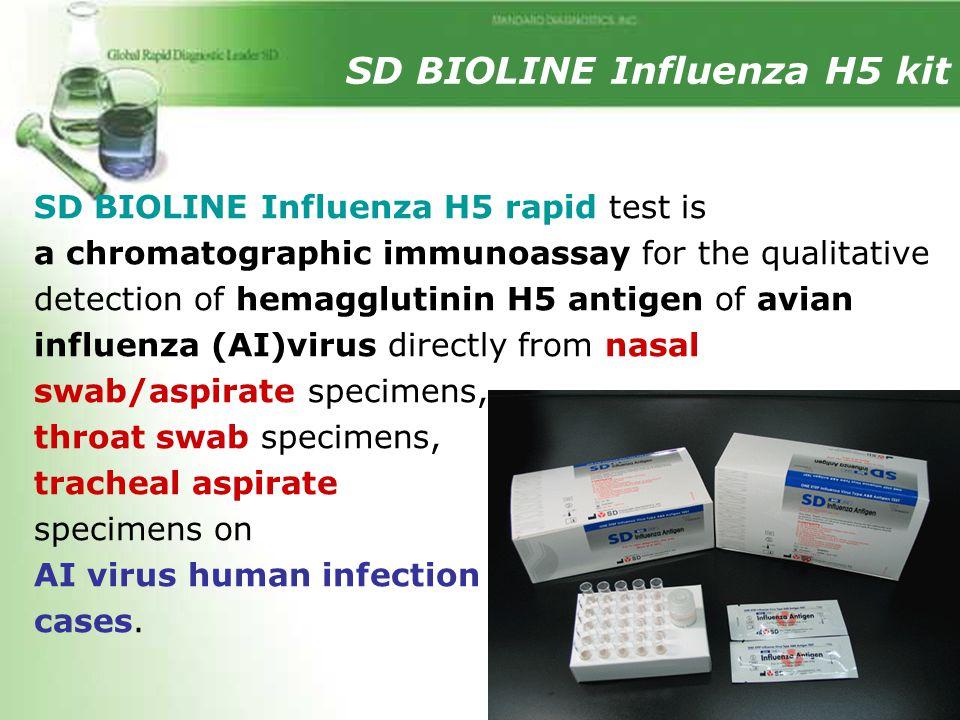 SD BIOLINE Influenza H5 kit
