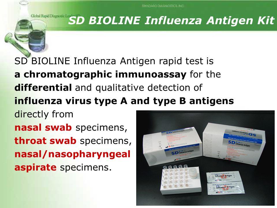 SD BIOLINE Influenza Antigen Kit