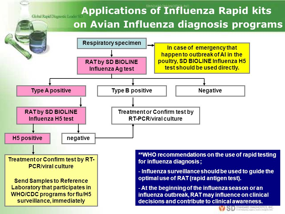 Applications of Influenza Rapid kits