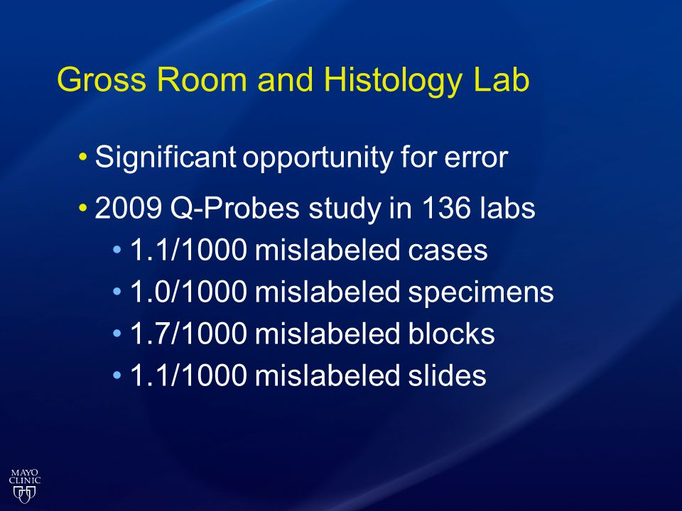 Gross Room and Histology Lab