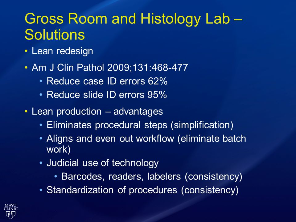 Gross Room and Histology Lab – Solutions