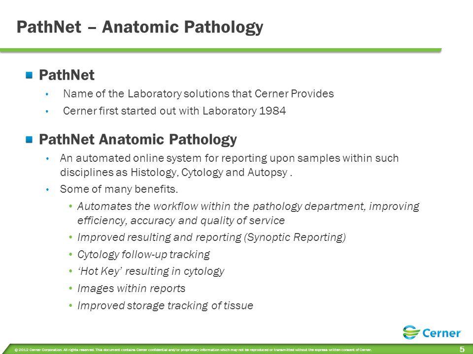 Anatomic Pathology Workflow
