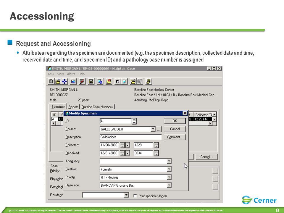 Processing Specimen Processing