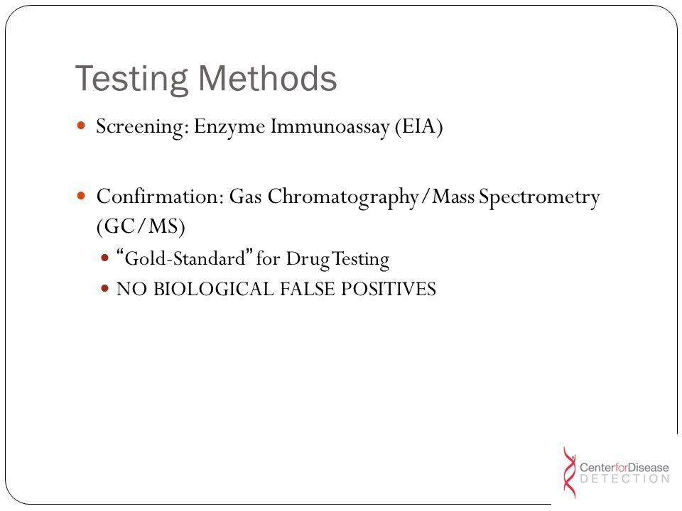 Testing Methods Screening: Enzyme Immunoassay (EIA)