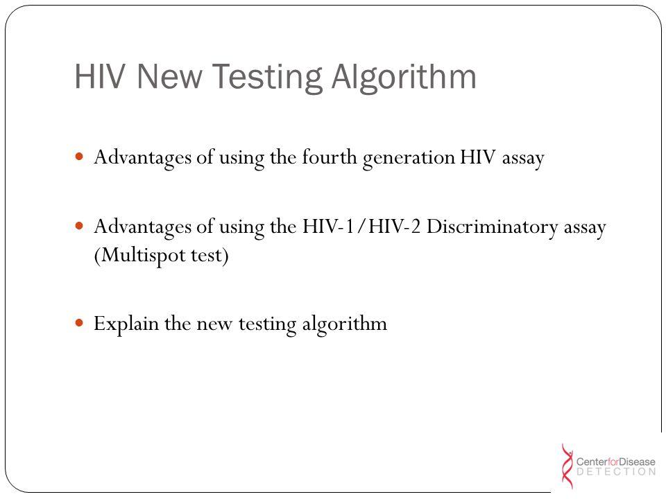 HIV New Testing Algorithm