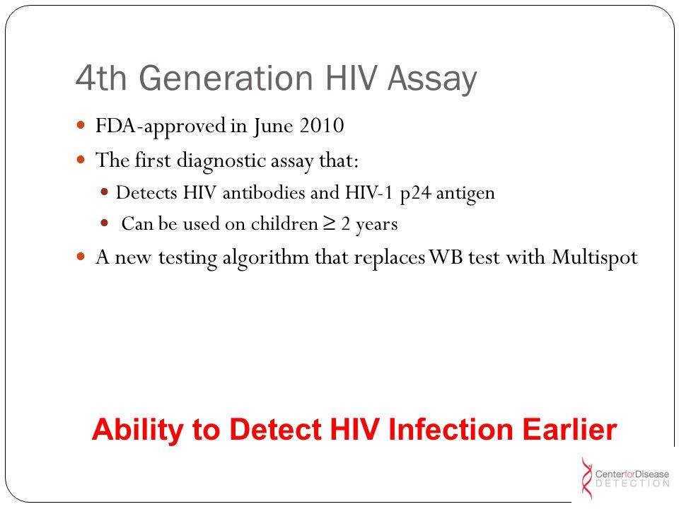 4th Generation HIV Assay