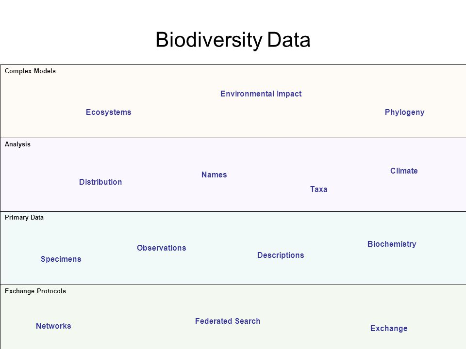 Biodiversity Data Environmental Impact Ecosystems Phylogeny Climate