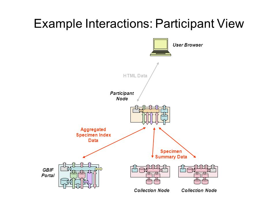 Example Interactions: Participant View